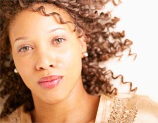 beatiful african american woman