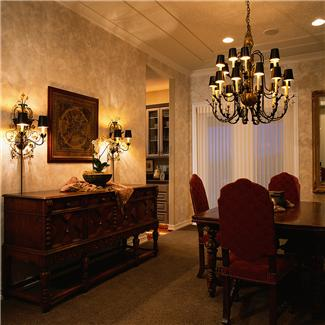 interior decor dining room