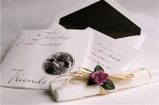 make your own wedding invitations for a wedding on a budget, Wedding invitations