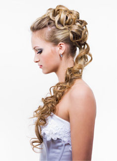 Astounding A Look At Simple Wedding Hairstyles For Long Hair Short Hairstyles Gunalazisus