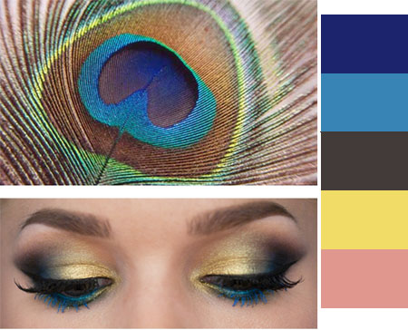 Inspired by Peacock