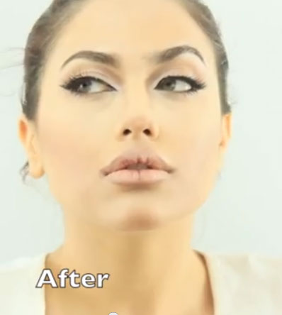 Best Angelina Jolie Makeup Tutorial Ever - The Power of Contouring
