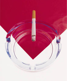 how much does smoking affect hair loss